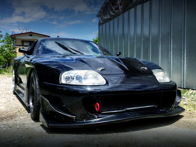 FRONT FACE JZA80 SUPRA RZ WIDEBODY.