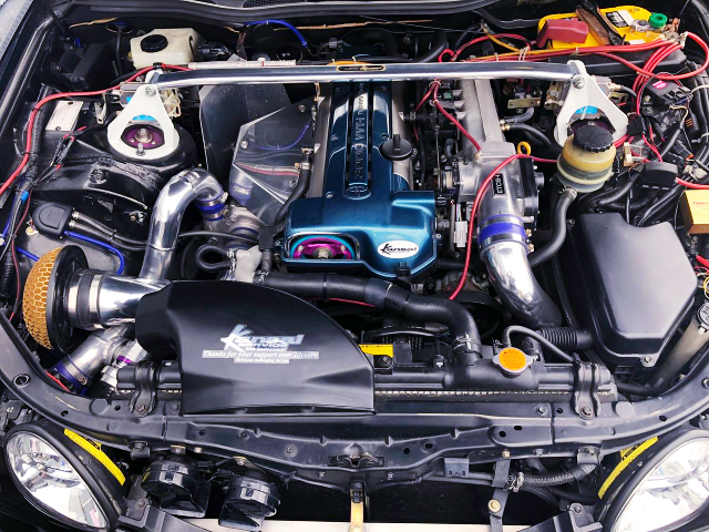 SINGLE TURBO CONVERSION VVTi 2JZ-GTE.