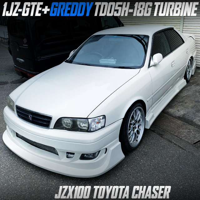 1JZ-GTE With TD05H-18G TURBO AND POWER-FC OF JZX100 CHASER.