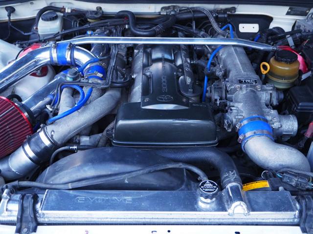 NON-VVTi OF 2JZ-GTE TWINTURBO ENGINE.