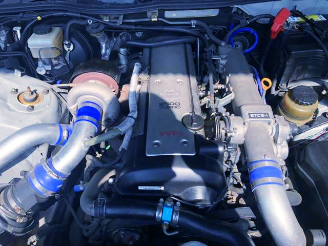 TD06 SINGLE TURBO ON 1JZ-GTE ENGINE.