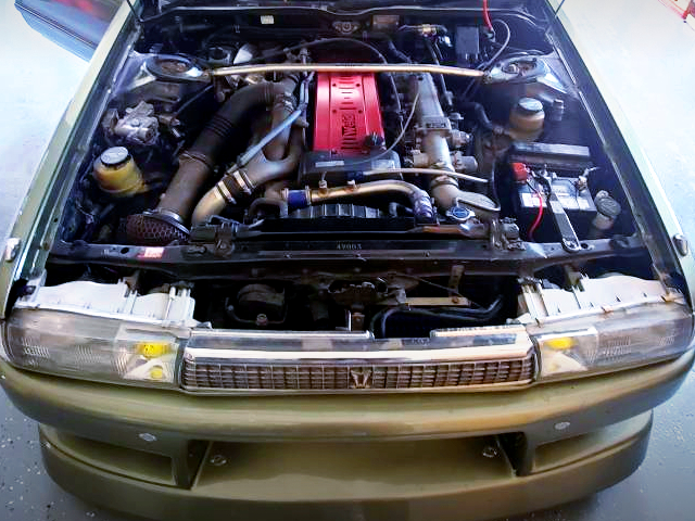 1JZ-GTE TWINTURBO ENGINE.