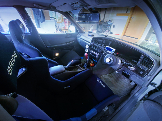 MANUAL SHIFT CONVERSION TO JZX81 INTERIOR.
