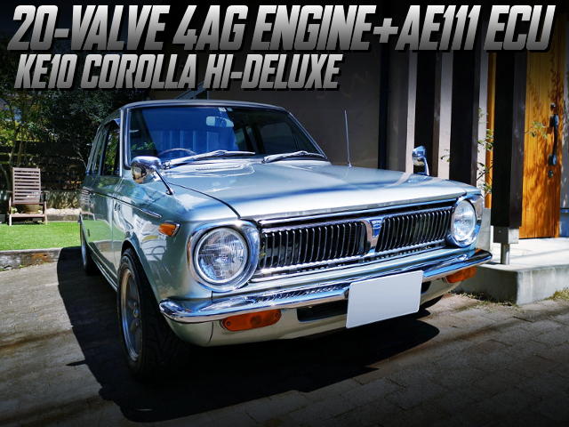 20V 4AG AND AE111 ECU INTO 1st Gen KE10 COROLLA 2-DOOR HI-DELUXE