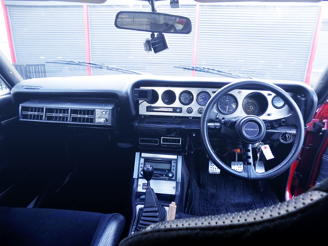 INTERIOR OF KAIDO RACER KENMERI GT-X PURPLE.