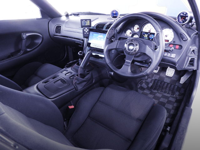 FD3S RX-7 TYPE-R BATHURST INTERIOR.