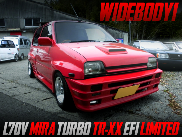 WIDEBODY KIT INSTALLED L70V MIRA TURBO TR-XX EFI LIMITED.