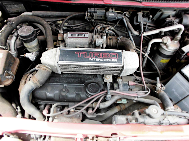 EB OHC 660cc INTERCOOLER TURBO ENGINE.