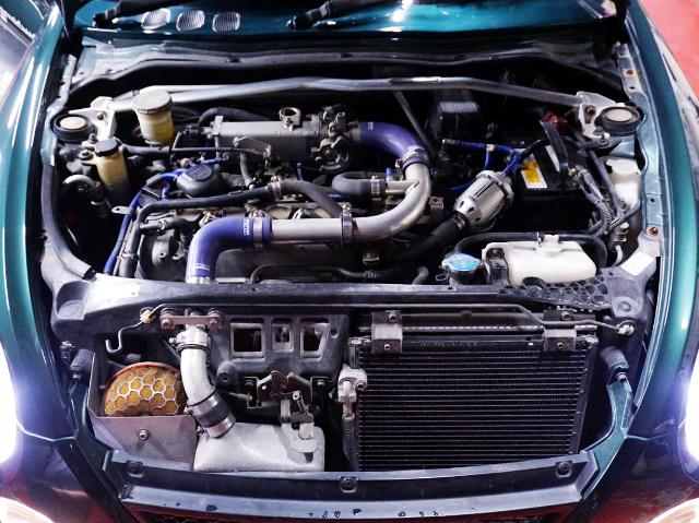 JB-DET TURBO ENGINE OF COPEN MOTOR.