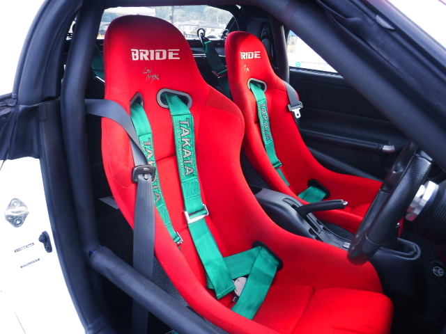 BRIDE FULL BUCKET TWO-SEATER.