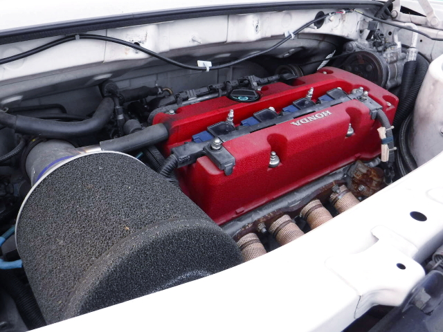 TYPE-R K20A i-VTEC ENGINE.
