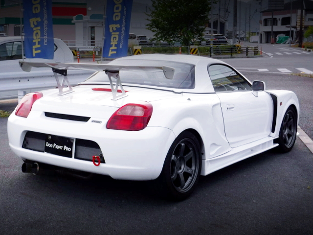 REAR EXTERIOR OF MONOCRAFT GT300 WIDEBODY MR-S.