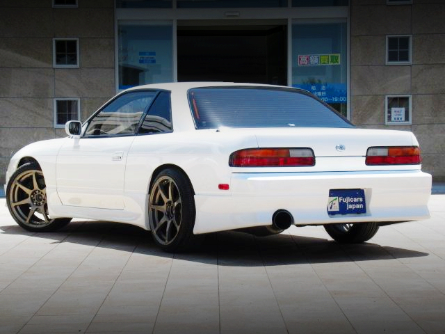 FRONT EXTERIOR OF 180SX FRONT END TO S13 SILVIA.
