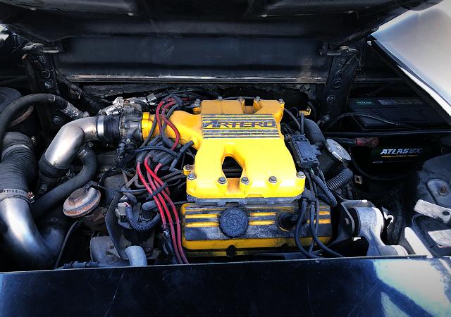 V6 2800cc V6 ENGINE OF PONTIAC FIERO MOTOR.