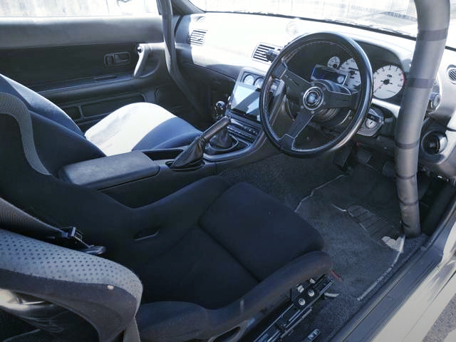 INTERIOR OF R32 GT-R V-SPEC.