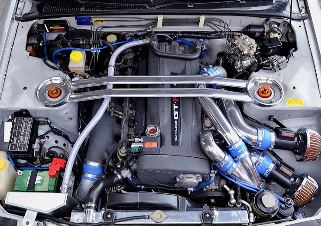 RB26 With V-CAM AND TOMEI B7660 TWINTURBO.