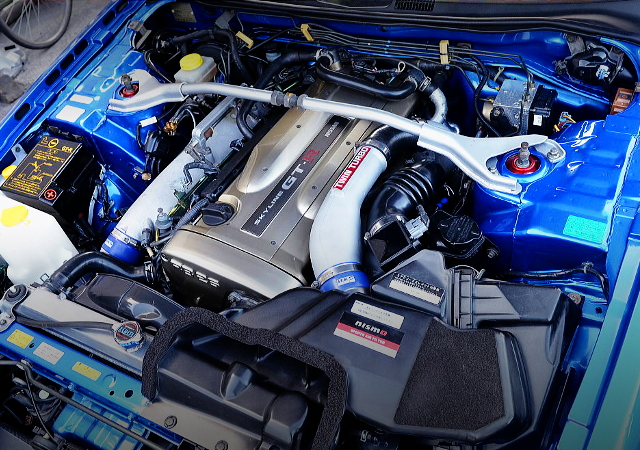RB26DETT TWINTURBO ENGINE OF R34 GT-R V-SPEC2 Nur MOTOR.
