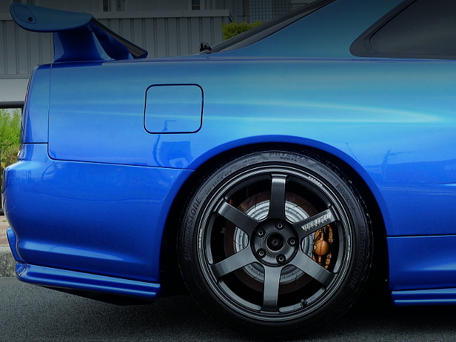 REAR Brembo 2-pot CALIPER OF R34 GT-R V-SPEC2 Nur.