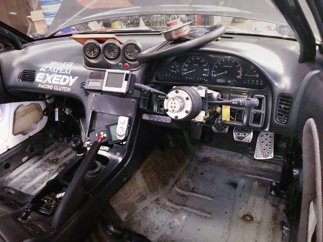 INTERIOR DASHBOARD OF S13 SILVIA.