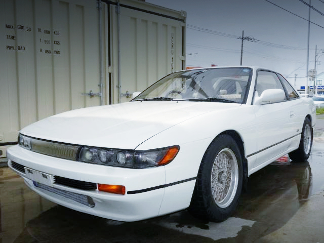 FRONT EXTERIOR OF S13 SILVIA.