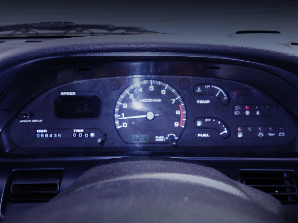 S13 SILVIA GENUINE SPEED CLUSTER.