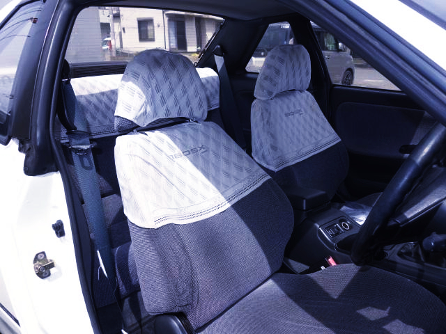 INTERIOR NISSAN GENUINE HARF SEAT COVERS.