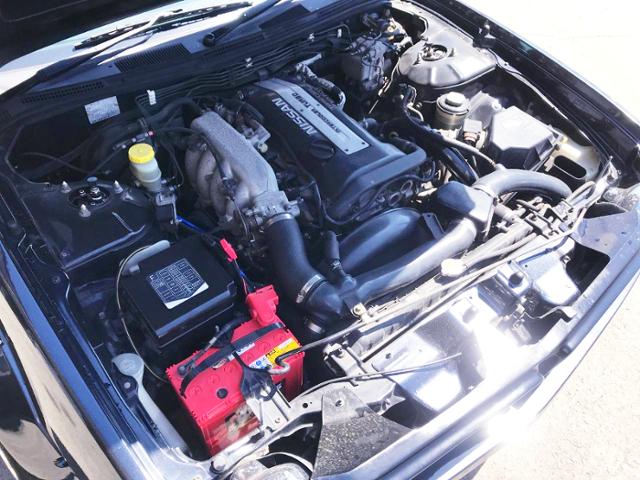 BLACK TOP SR20DET TURBO ENGINE OF S14 KOUKI MOTOR.