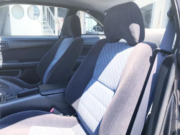 S14 SILVIA KOUKI INTERIOR SEATS.