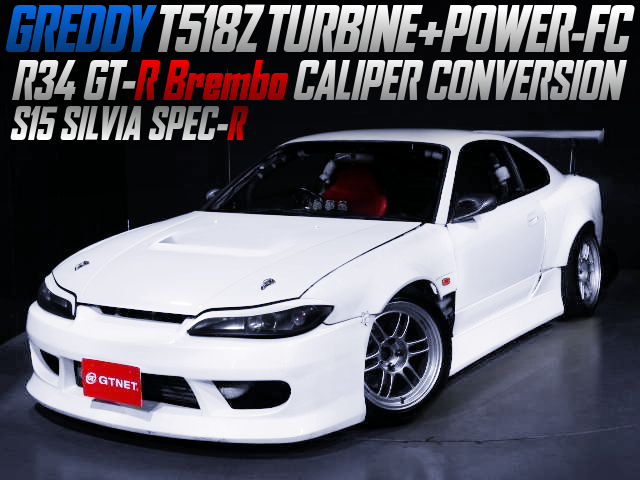 T518Z And POWER-FC With S15 SILVIA SPEC-R WIDEBODY.