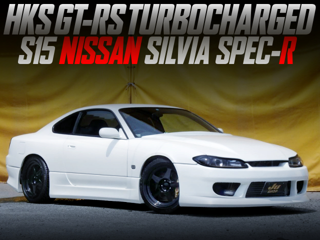 HKS GT-RS TURBOCHARGED S15 SILVIA SPEC-R WHITE.