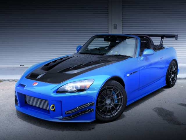 FRONT EXTERIOR OF AP2 S2000.