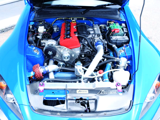 F22C VTEC With HKS SUPERCHARGER.