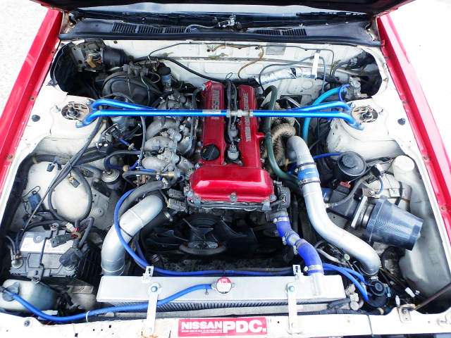 SR20DET TURBO ENGINE INSTALLED DR30 SKYLINE