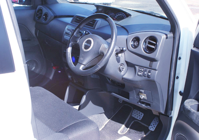 INTERIOR OF SUBARU DEX.