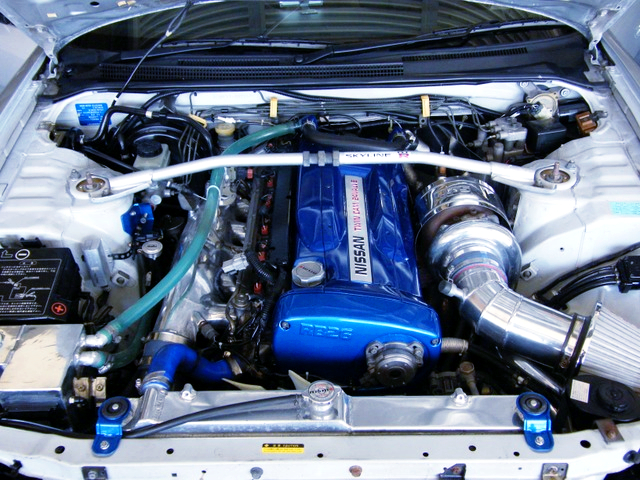 TO4R SINGLE TURBO ON RB26 ENGINE.