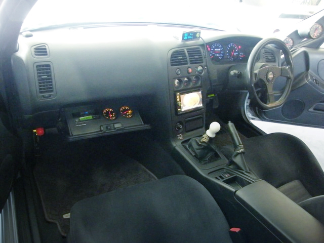 R33 GT-R DASHBOARD.