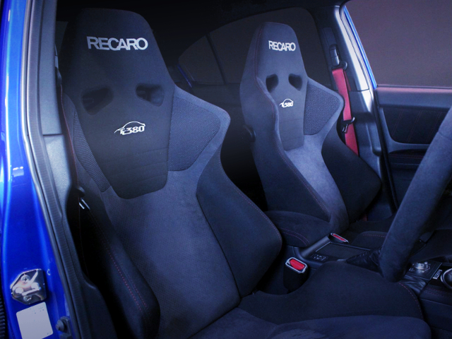 RECARO SEATS OF TC380 MODEL.