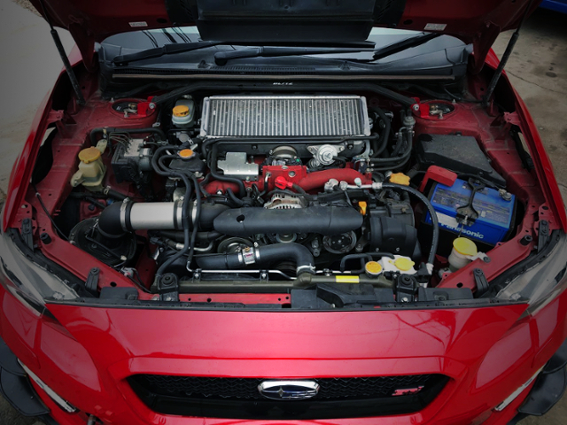 EJ20 BOXER TURBO ENGINE OF VAB WRX STI MOTOR.