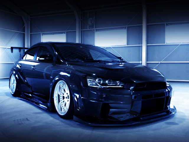 FRONT EXTERIOR OF CZ4A EVO 10 VARIS WIDE BODY Ver 2.