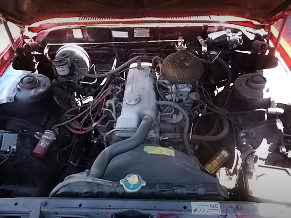 18RG ENGINE OF RX30 MARK2 MOTOR.