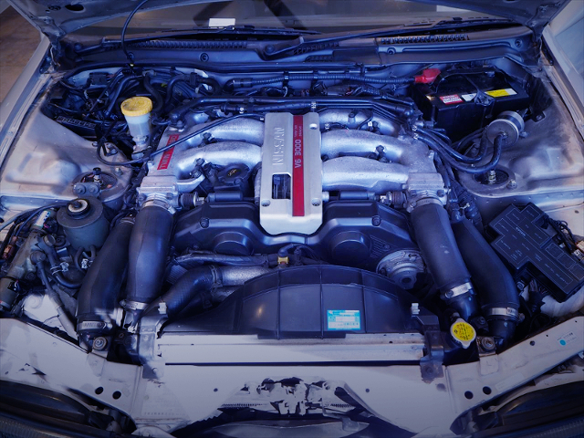 VG30DETT V6 3000cc TWINTURBO ENGINE OF Z32 MOTOR.