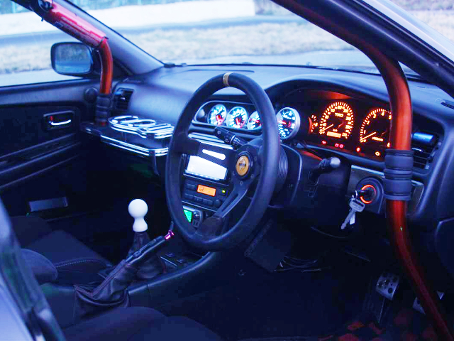 JZX100 CHASER TOURER-V CUSTOM DASHBOARD.