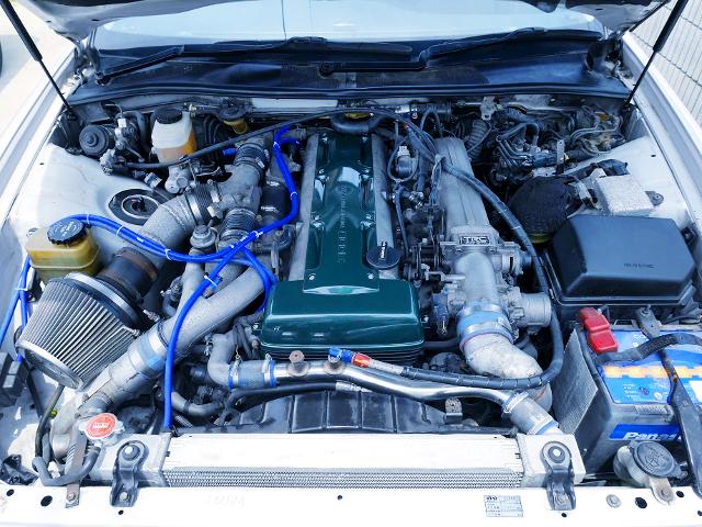 2JZ-GTE 3000cc TWINTURBO ENGINE.