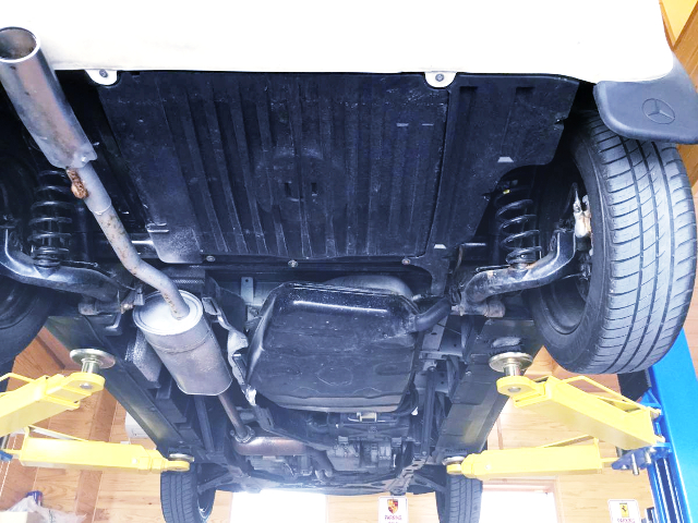 UNDERBODY TO W168 BENZ A-CLASS.