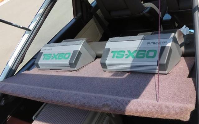 TSX60 SPEAKERS
