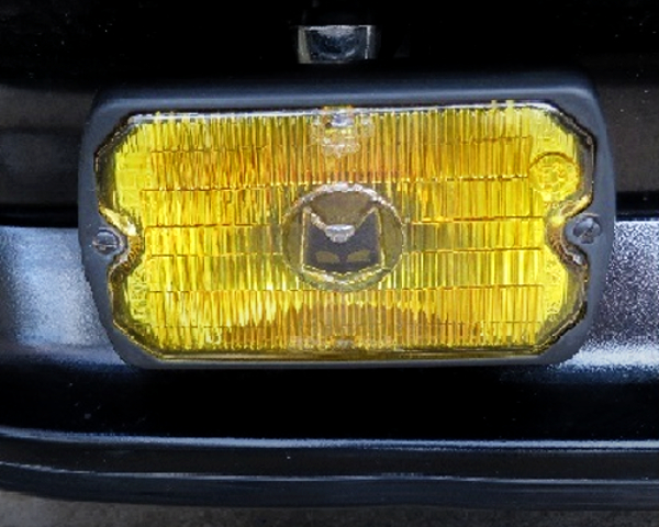 YELLOW FOG LIGHT.