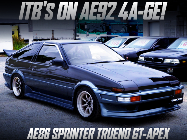 ITB'S ON AE92 SERIES-2 4AG INTO AE86 TRUENO GT-APEX.