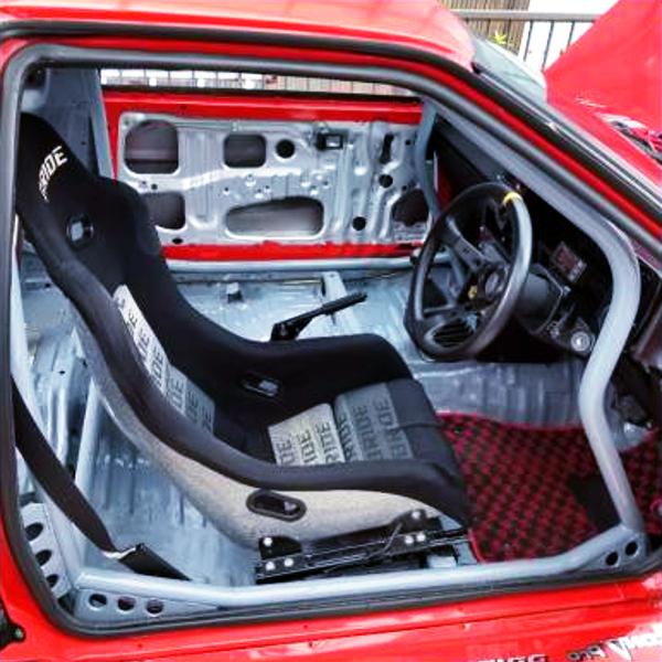 INTERIOR OF AE86 COROLLA LEVIN GTV.