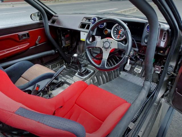 INTERIOR AE86 LEVIN GT-APEX.