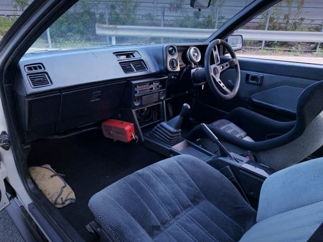 INTERIOR DASHBOARD AND MSD IGNITION SYSTEM.